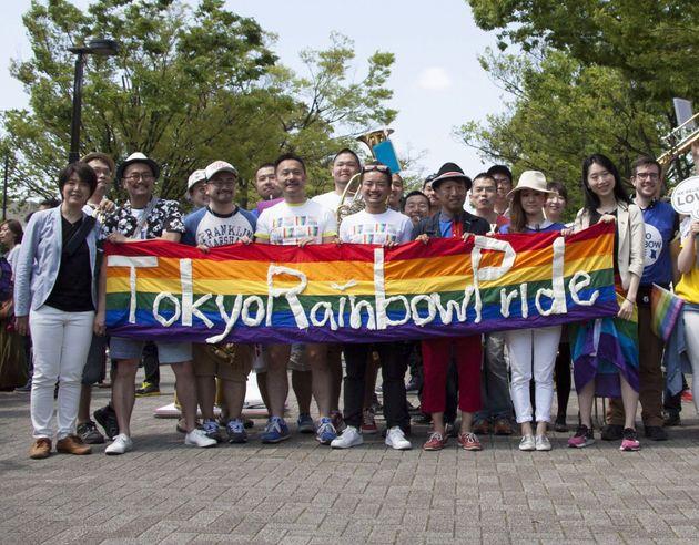『東京レインボープライド2015』の様子。