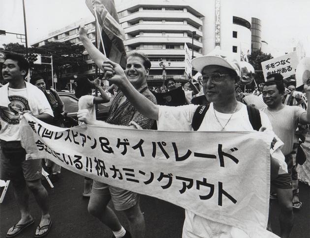 1994年8月28日『第1回東京レズビアン&ゲイパレード』