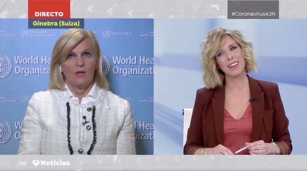 Un momento del especial informativo de Antena 3 sobre el