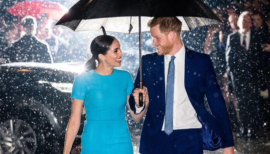 This Picture Of Harry And Meghan Is Everything. Here's The Story Behind
