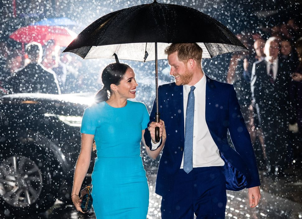 The Duke of Sussex and Duchess of Sussex attend The Endeavour Fund Awards.