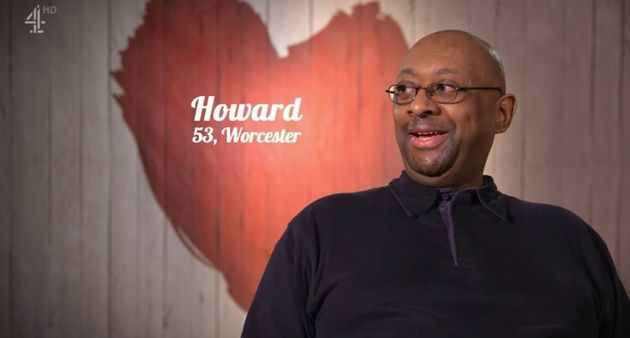 Howard was looking for love in the First Dates