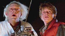 Doc y Marty, de 'Regreso al futuro, juntos más de 30 años después: así están Michael J. Fox y Christopher