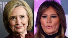 Hillary Clinton Fällt Der Hammer Auf Melania Trump ist Cybermobbing-Kampagne