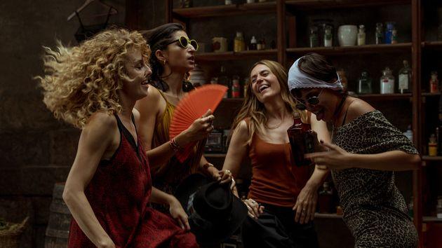 Alba Flores, Esther Acebo, Itziar Ituño, Úrsula Corberó dans la saison 4 de