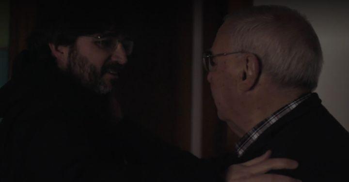 Jordi Évole con su padre en 'Lo de Évole'.