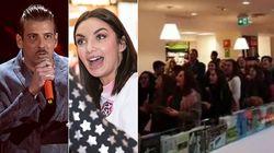 L'emergenza coronavirus non ferma i fan. Folla di giovani al firmacopie di Gabbani e