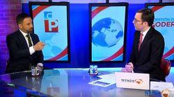 Una televisión extranjera pone contra las cuerdas a Abascal en directo: