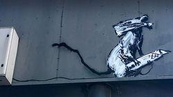 Le suspect du vol d'un Banksy à Paris dit avoir agi à sa demande, l'artiste