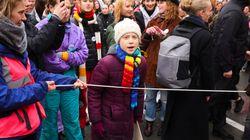 Διαδήλωση 3.400 ατόμων στις Βρυξέλλες για το κλίμα, παρουσία της Γκρέτα