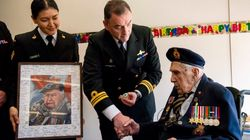 Canadians Shower Veteran With 90,000 Cards For His 100th