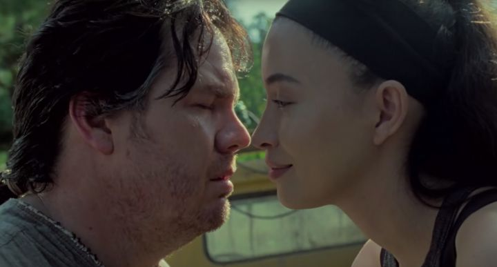 Eugene (Josh McDermitt) and Rosita (Christian Serratos).