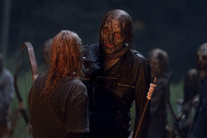Jeffrey Dean Morgan as Negan.