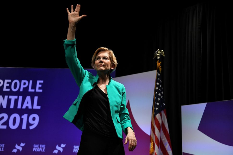 Elizabeth Warren's performance at the She The People Forum in Houston in April was considered a key moment in her rise