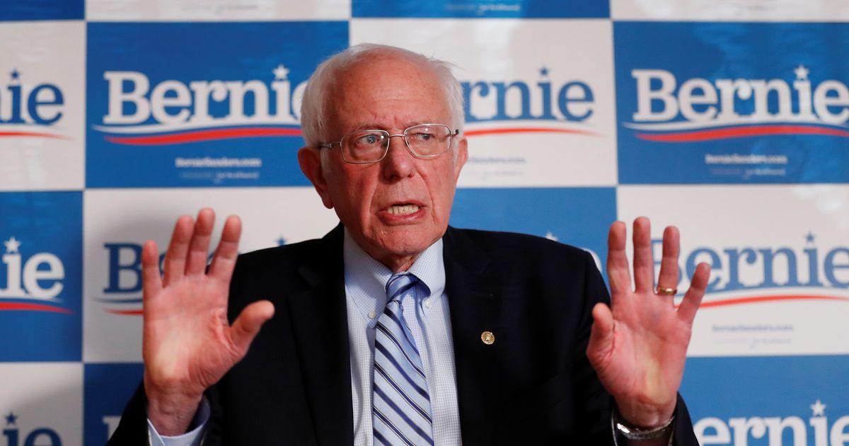 Bernie Sanders Calls Nazi Flag Display At His Rally 'Horrific'