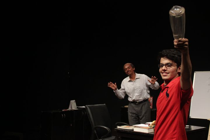 Darsheel Safary in a still from his play
