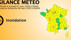 4 départements de l'ouest maintenus en vigilance orange aux