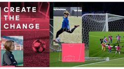 たったの3%…U15の女子プレーヤーを増やすため、アディダスが動いた。国際女性デーは『女子サッカーの日』
