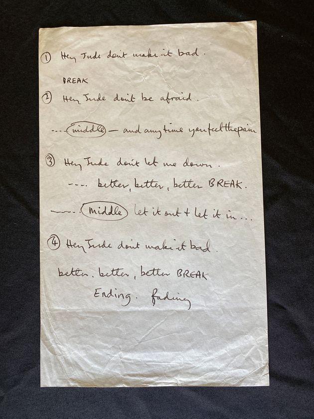 Χειρόγραφο του Πωλ...