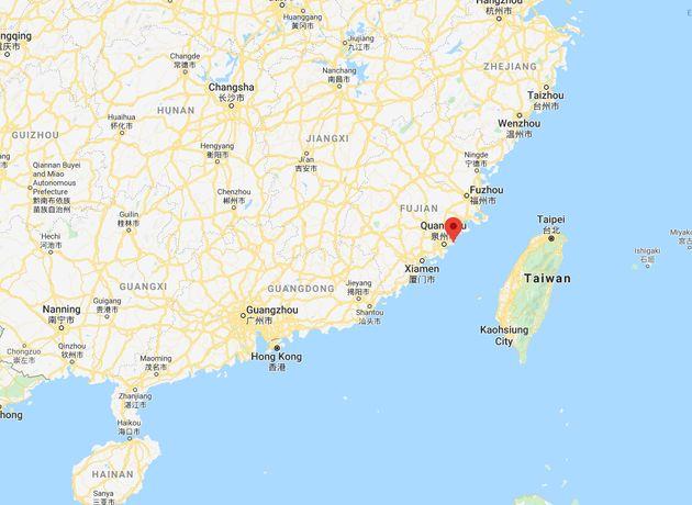 Un hôtel à Quanzhou s'effondre, 70 personnes sous les