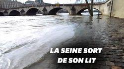 Les images de la crue de la Seine à