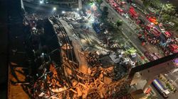 中 '신종 코로나' 수용시설이 갑자기 무너져 약 70명이 매몰됐다