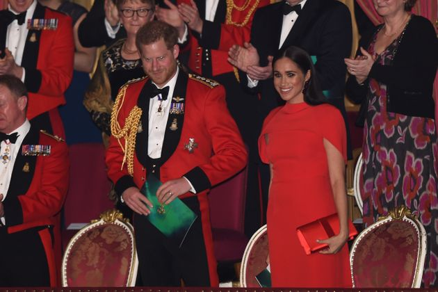 Every Photo You Need To See From Meghan Markle And Prince Harry's Magical Night