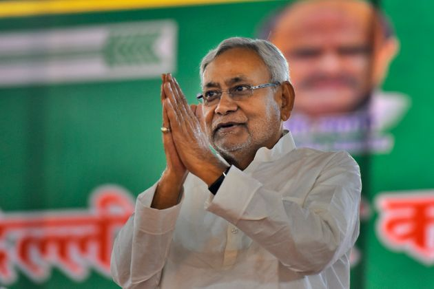 JDU president and the Chief Minister of Bihar Nitish