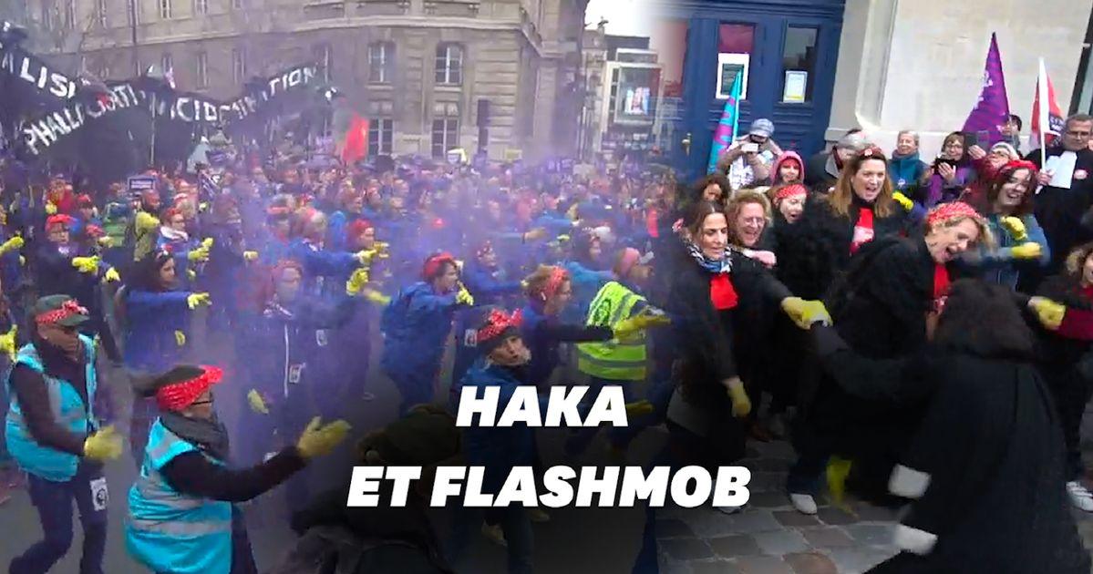 Les happenings les plus marquants de la marche du 8 mars