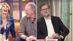 El comentario de Mariano Rajoy en 'Viva La Vida' que ha provocado esta carcajada Bertín Osborne y Emma