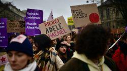 Céline Sciamma et Adèle Haenel étaient les vedettes de la manifestation du 8