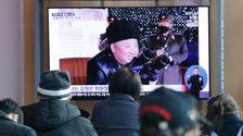 北朝鮮の火災励起による新しい武器の試験、韓国軍と