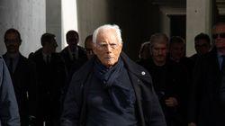 Armani dona 1 milione e 250 mila euro agli ospedali di Milano e