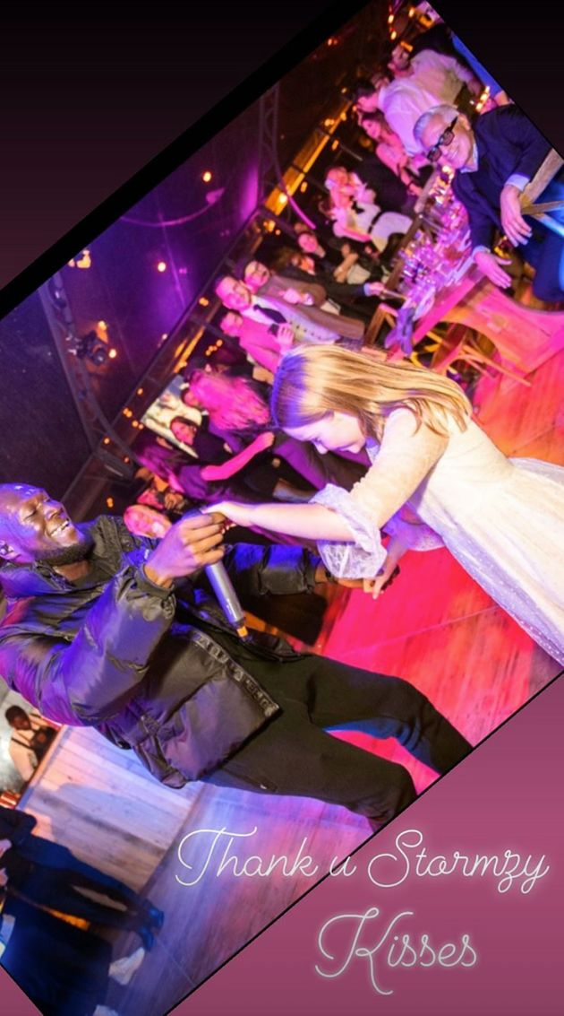 Stormzy danced with Harper