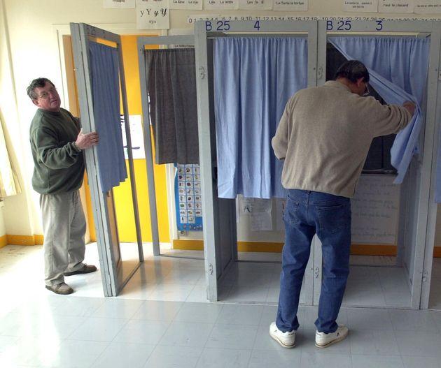 Image d'illustration - Un bureau de vote à Caen (Calvados) en