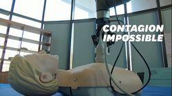 Un robot infirmier pour détecter les symptômes du coronavirus à