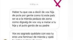 Una conocida actriz denuncia los mensajes que está recibiendo tras lo que publicó sobre