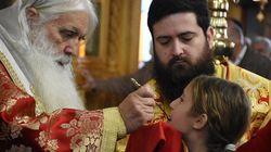 Κύριε Ελέησον: Ο κορονοϊός δεν μεταδίδεται με την Θεία Κοινωνία, λέει η Ιερά