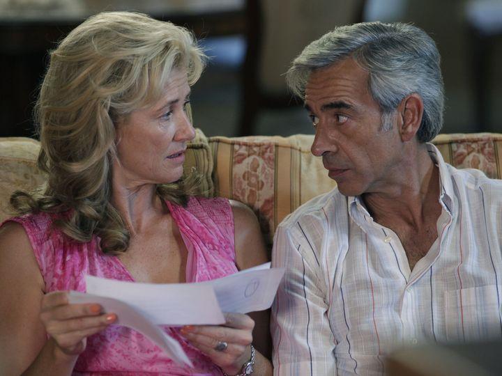 Ana Duato e Imanol Arias en una escena de 'Cuéntame cómo pasó'.