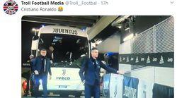 El comentado gesto de Cristiano Ronaldo a su llegada al estadio: el coronavirus es el