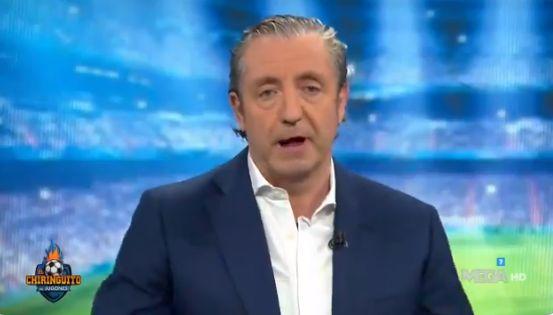 El presentador Josep