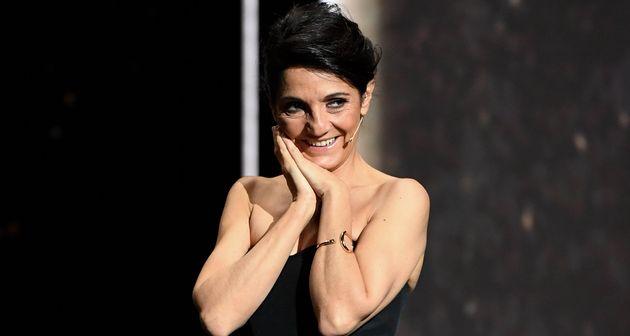Florence Foresti était la présentatrice des très polémiques César