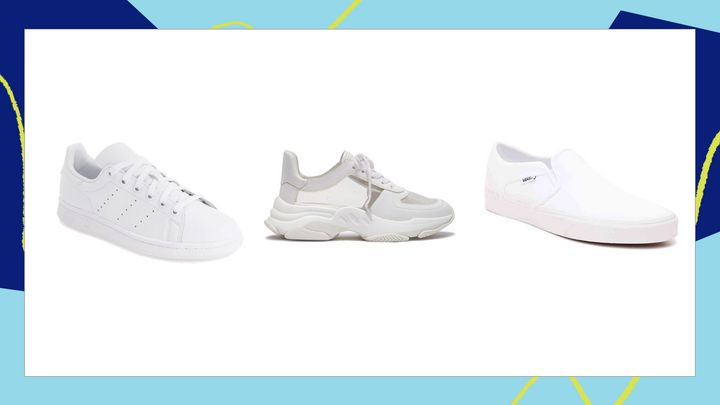 You can't underestimate the appeal of a white sneaker. We've rounded up 15 pairs of women's white sneaker that go with everything, so you can stop the search once and for all.