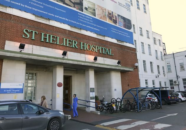 St Helier hospital, in the London Borough of Sutton, and which is run by Epsom and St Helier University...