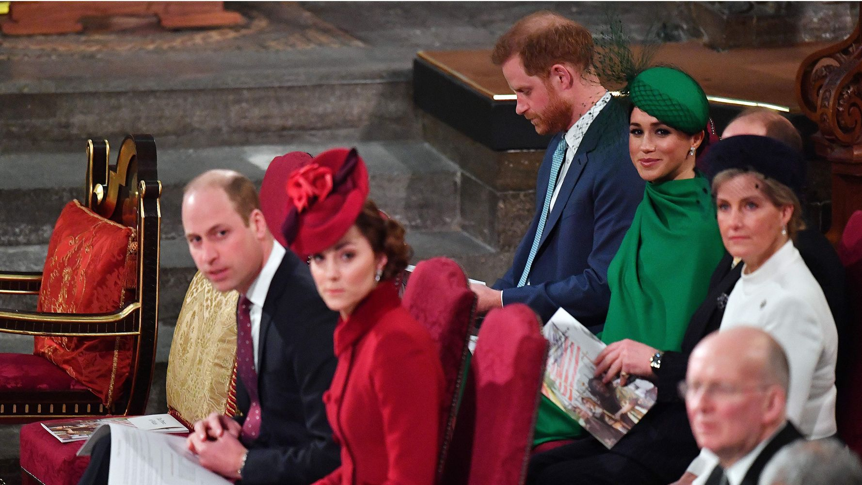 Royal Fans Can't Stop Analyzing This Video Of Harry, Meghan, William And Kate