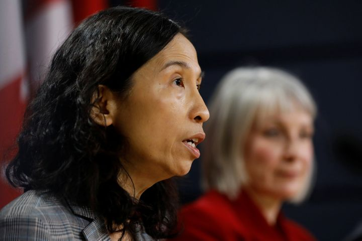 Canada's Chief Public Health Officer Dr. Theresa Tam in Ottawa on March 9, 2020.