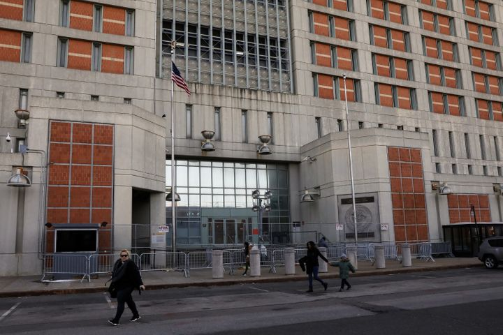 At the Metropolitan Detention Center in Brooklyn, inmates fear the spread of coronavirus. Just over a year ago, inmates at th