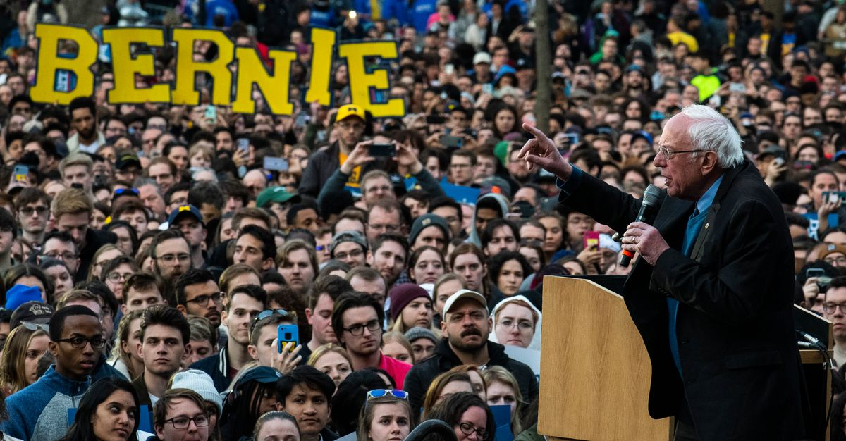 Sanders Is Hoping For Another Michigan Upset ― And He Needs One