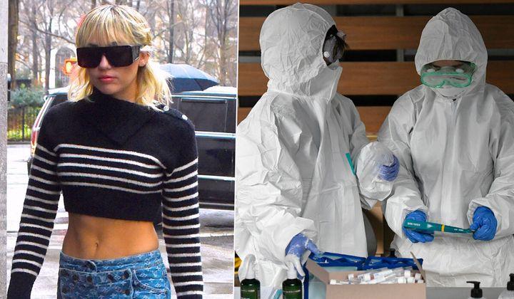 Miley cancels bushfire gig amid coronavirus fears.