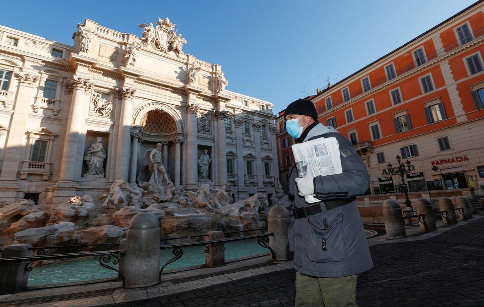 Φοντάνα ντι Τρέβι, Ρώμη, σήμερα...